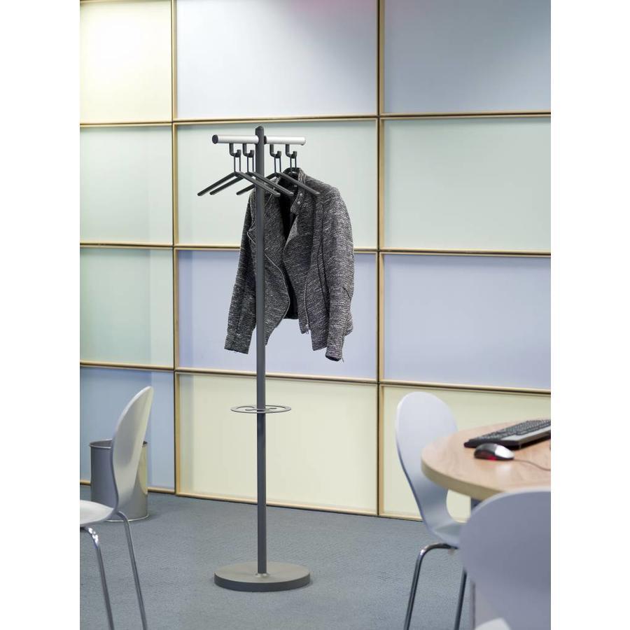 van Esch Tertio Sigitta+ Kapstok met 4 kledinghangers en parapluring-2