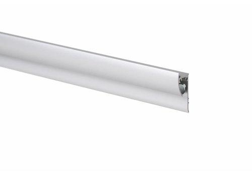 Knikkerrail, aluminium kleurig