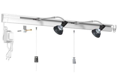 Combi Rail Pro Light, compleet set 4 meter