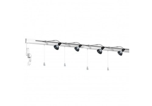 Combi Rail Pro Light, compleet set 8 meter