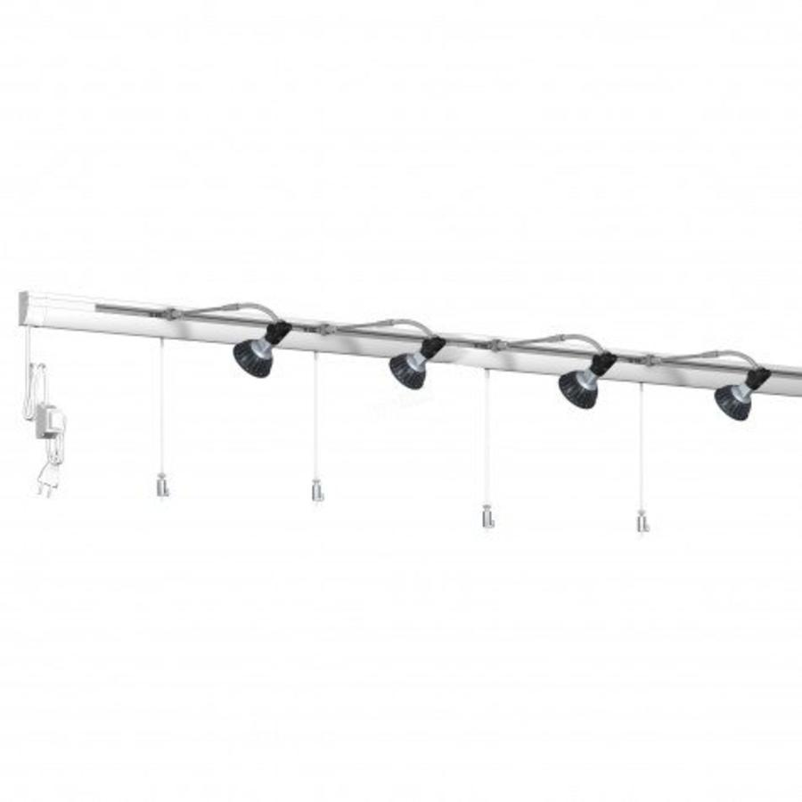 Artiteq Combi Rail Pro Light wandrails met verlichting set van 8 meter-1