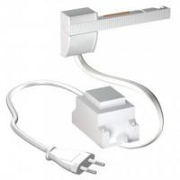 thumb-Artiteq Combi Rail Pro Light, schilderij ophangsysteem met LED spotjes. Compleet set met 2 meter rail, RAL 9010, en 2 spotjes, simpel af te korten.-7