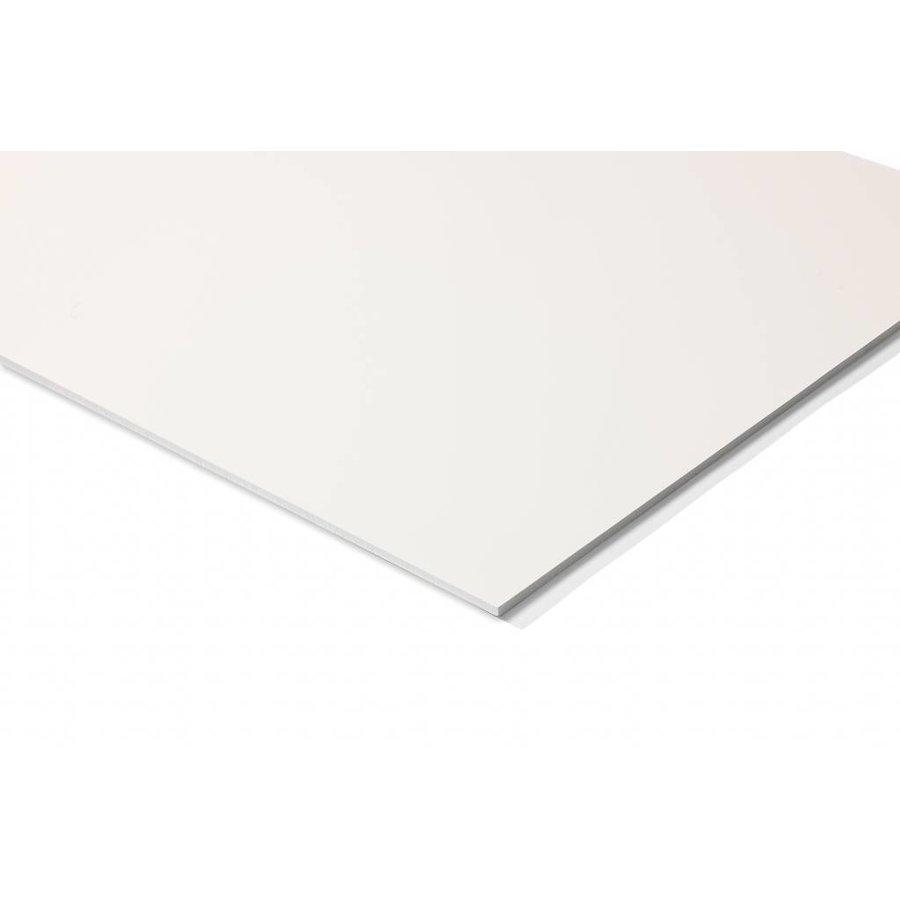 Chameleon Whiteboard  met afgeronde hoeken met witte  of  zwarte  zijkant-3