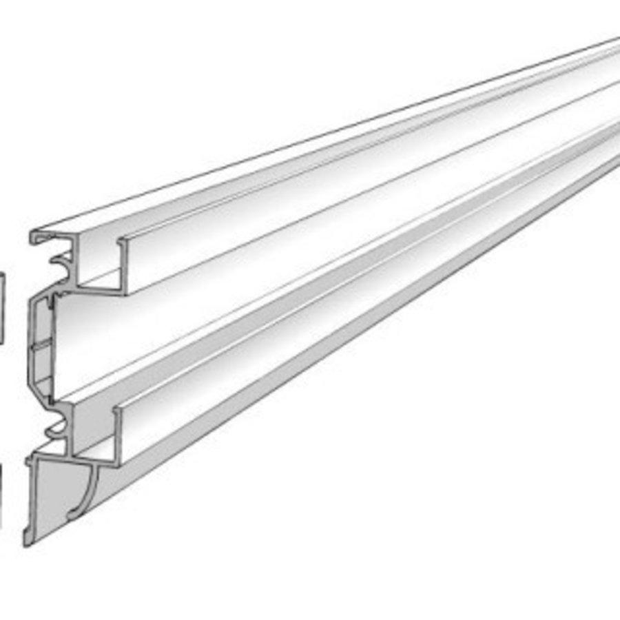 Dubbele rail voor projectie-, prik- en schrijfborden-2