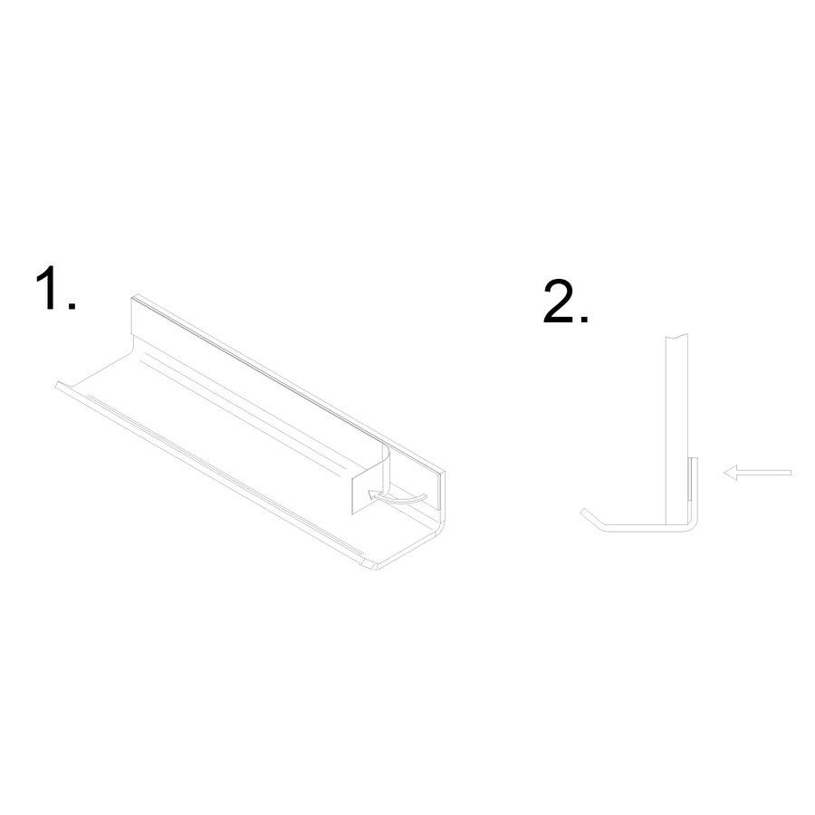 Aflegbakje voor stiften en wissers voor whiteboard en stalen wand-3