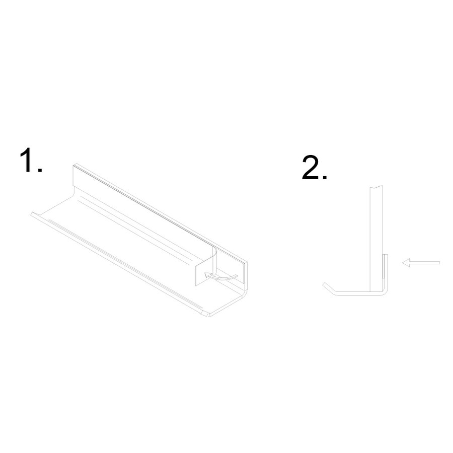 Transparante afleggoot voor stiften en wissers  voor whiteboard en stalen wand-3