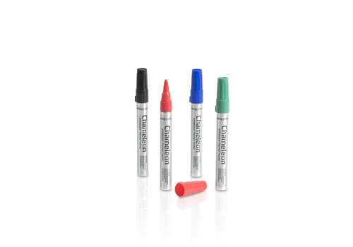 Magnetische whiteboard markers