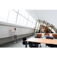 thumb-Whiteboard wandpaneel van 88 x 118 cm met rechte hoeken-2