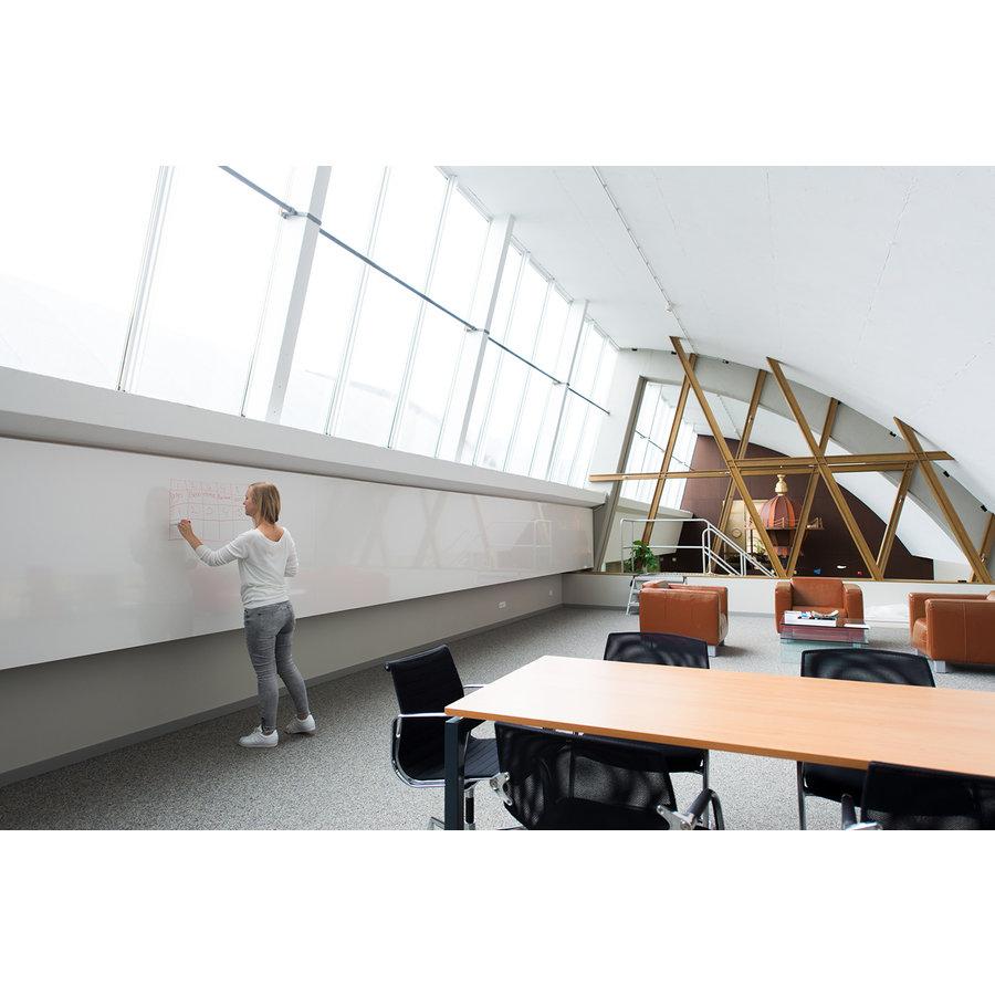 Whiteboard wandpaneel van 88 x 118 cm met rechte hoeken-2