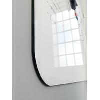 thumb-Whiteboard wand met afgeronde hoeken 198x392 cm.-3