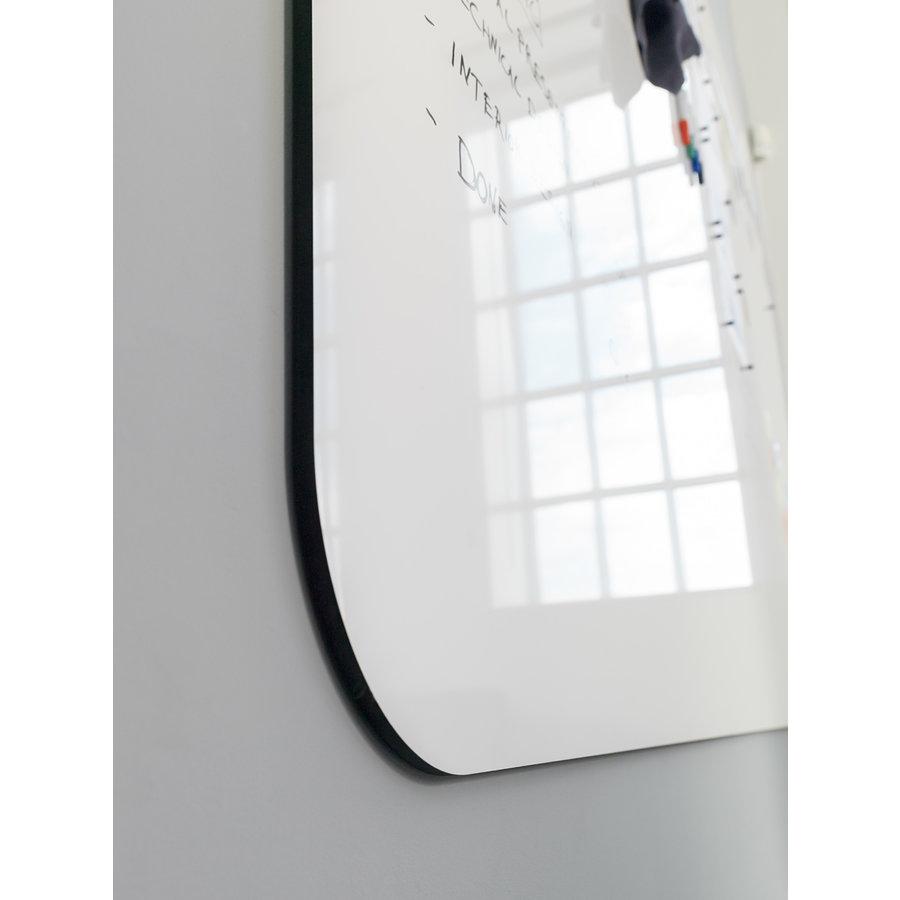 Whiteboard wand met afgeronde hoeken 198x392 cm.-3