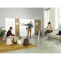 thumb-Whiteboard wandpaneel van 98 x 198 met rechte hoeken-3