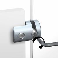 thumb-RVS  klem Display it solo vaste bevestiging-2