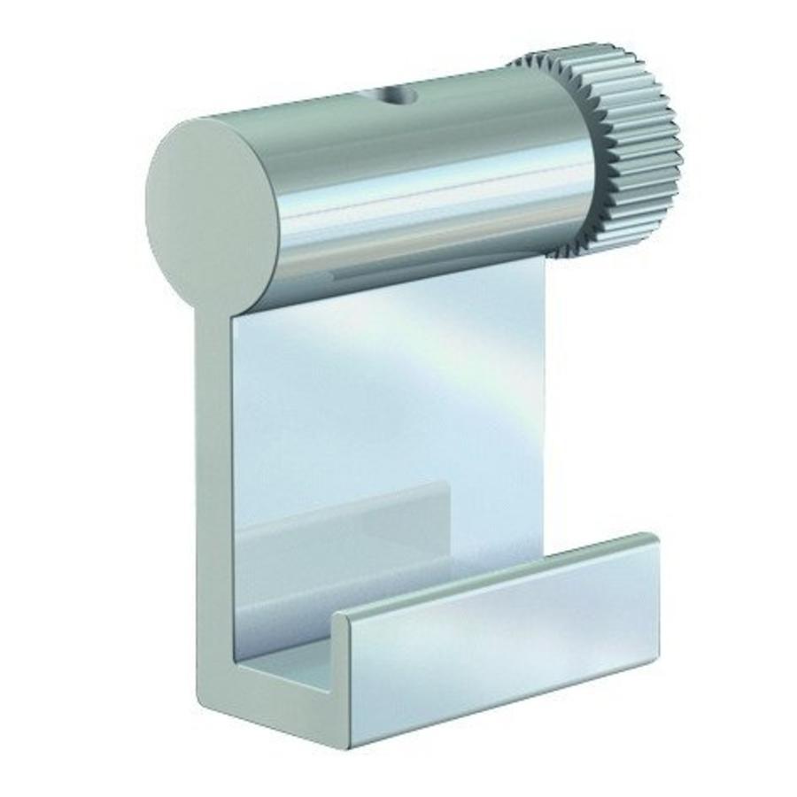 Ophanghaak alu voor aluminium lijsten max. 10 kg. voor aluminium lijsten-1