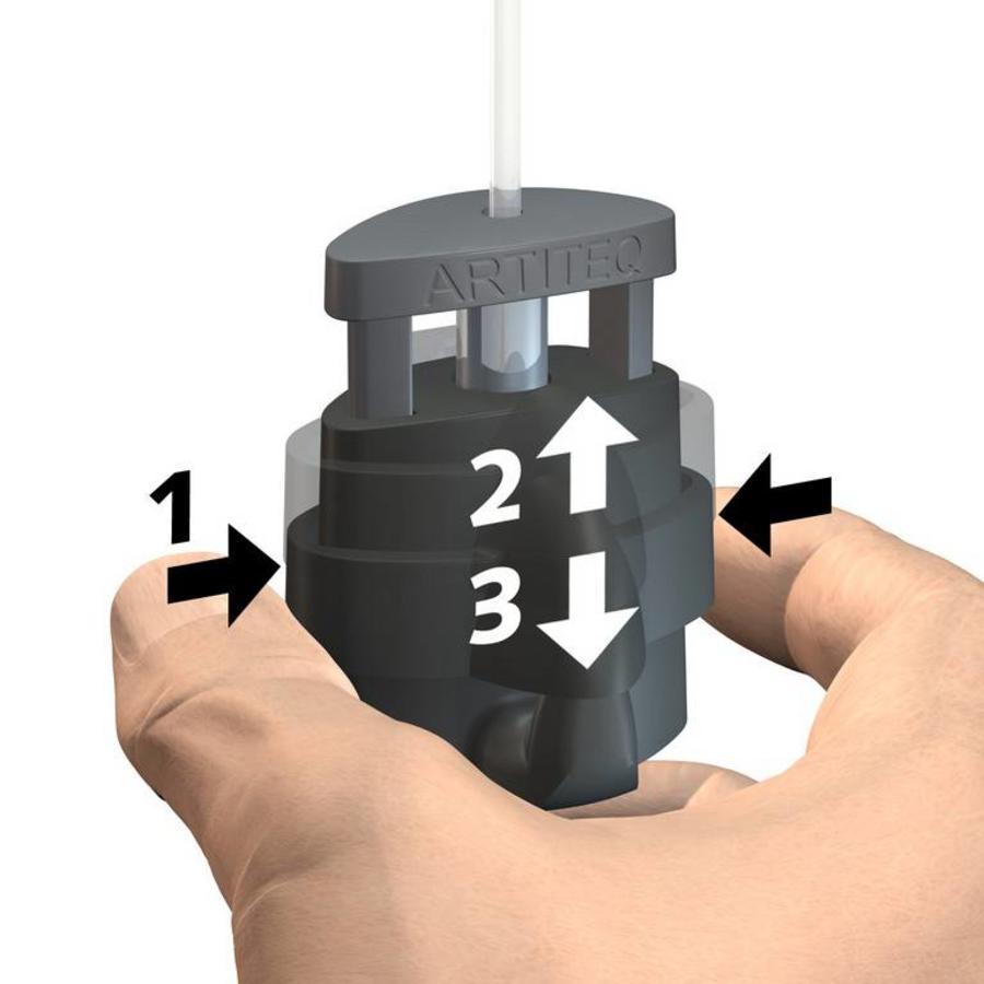 Micro Grip haak 2 mm. 20 kg.-2