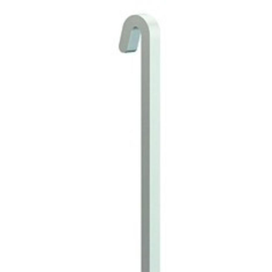 Voor de Classic Rail +. 4 mm. witte stang belastbaar tot max. 100 kg. om makkelijk zware kunstwerken te wisselen-1