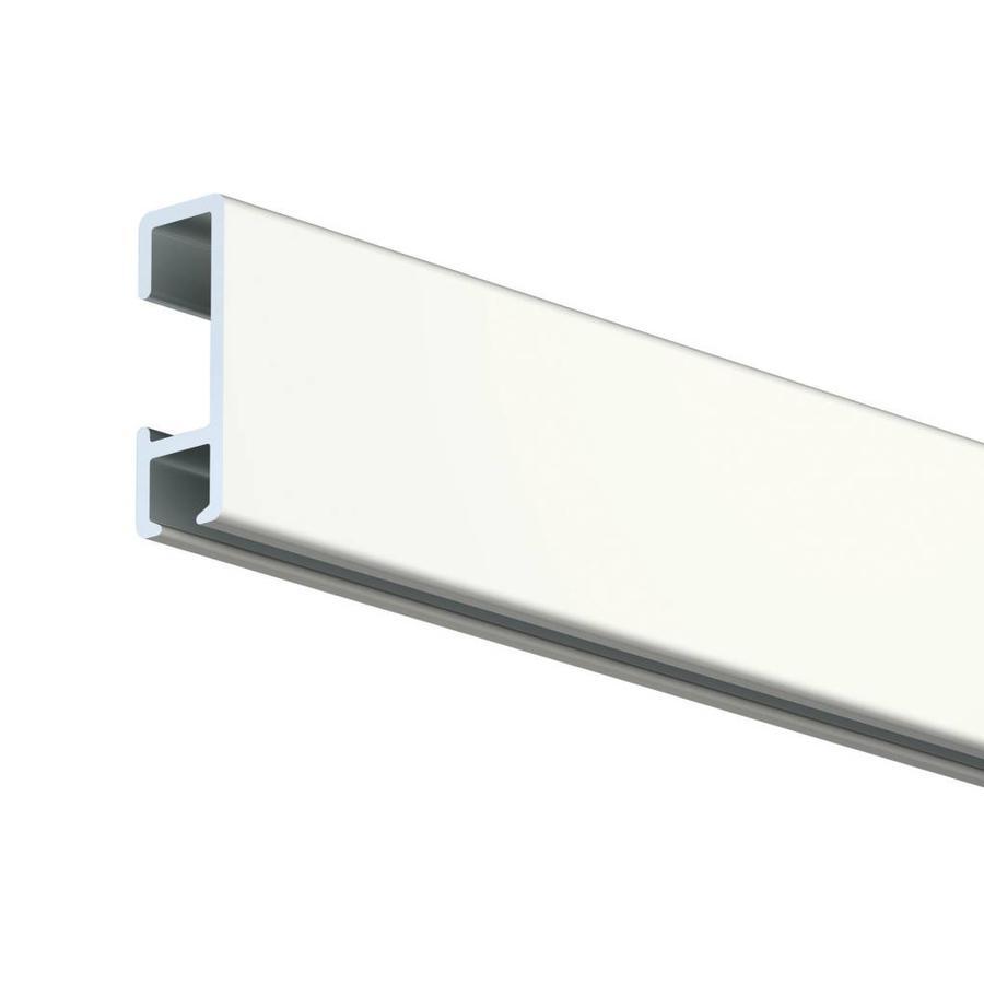 Artiteq Click Rail wit, RAL 9010.  Schilderij ophangsysteem voor bevestiging aan de wand met de makkelijke Click&Connect clips.-1