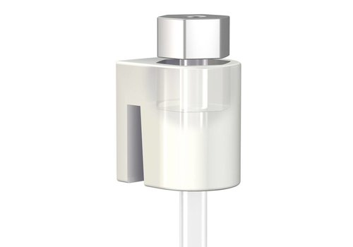 Cilinderhaak wit