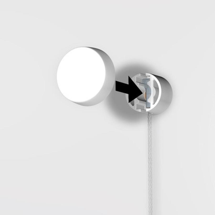 Picture Mouse wit voor schilderijrails, 6 stuks-4