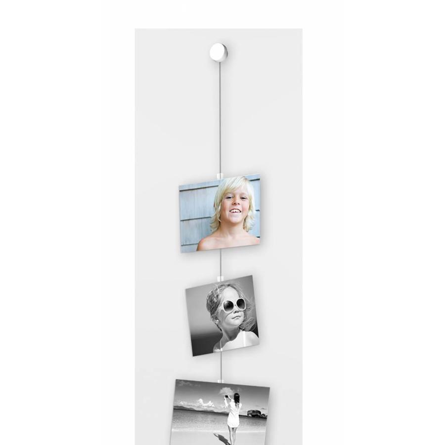 Picture Mouse wit voor schilderijrails, 6 stuks-2
