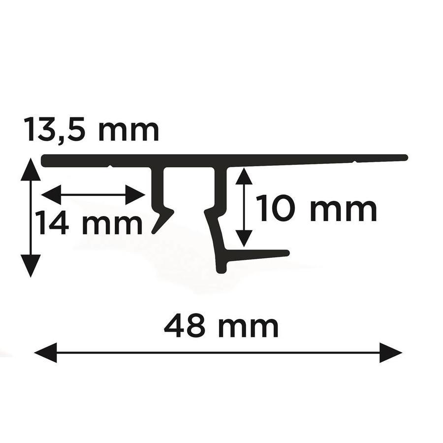 Artiteq Shadowline Drywall bevestiging gipsplaat-3