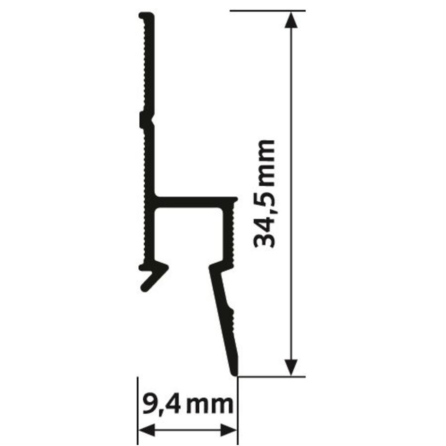 Artiteq Deco Rail RAL 9016-2