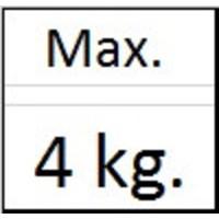 thumb-Mini haak max. 4 kg.-2