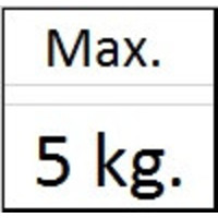 thumb-Ophanghaak rond messing max. 5 kg.-3