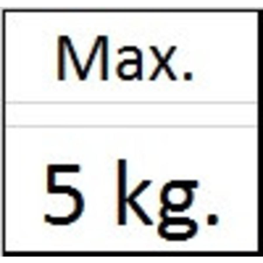 Ophanghaak rond messing max. 5 kg.-3