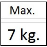 thumb-Ophanghaak zwaar messing max. 7 kg.-2