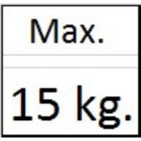 thumb-Zelfklemmende Palhaak van Artiteq.  klemt zich automatisch vast om de perlon-,  of stalendraad of 2 mm. stang.  max. 15 kg.-2