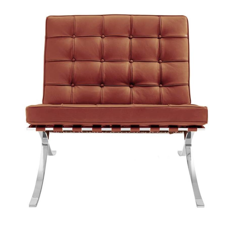 Barcelona Chair Cognac - Premium leather