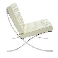 Barcelona Chair Cream - Premium Leather