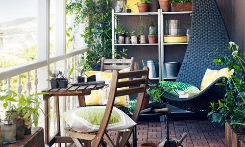 How to make the most of the long summer days on your own furnished balcony.