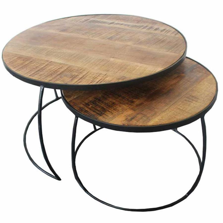 Boxer Coffee Table (set of 2) - Industrial Design