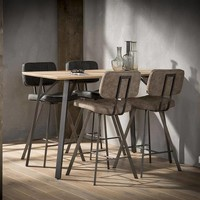 George Bar Stool Black - Modern Design