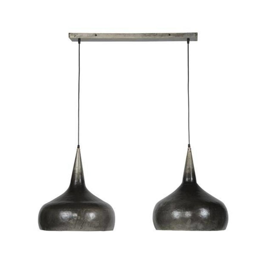 Gareth ceiling light 2xØ40 funnel