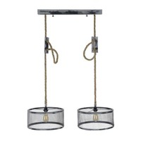 Dacio ceiling light 2xØ40 adjustable - Industrial design