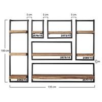 Jax wall shelf 40cm Acacia wood