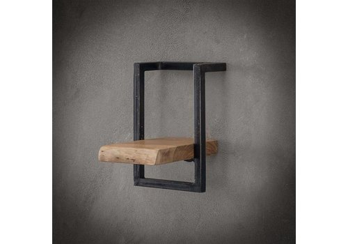 Wall shelf Jax 20 cm Solid Wood