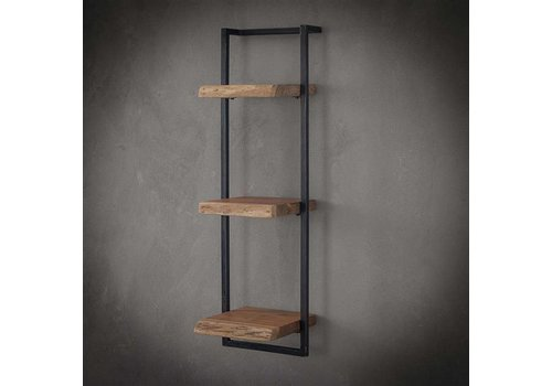 Wall shelf Jax 30 cm (100 cm height) Solid Wood