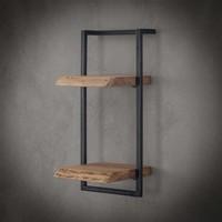 Wall shelf Jax 30 cm (65 cm height) Solid Wood