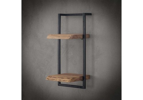 Wall shelf Jax 30 cm (65 cm height) Solid Wood