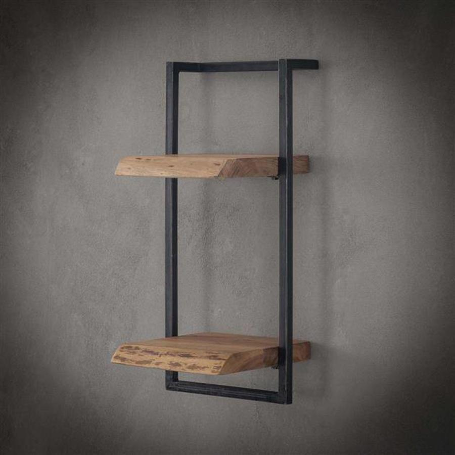 Jax wall shelf 30cm H=65 Acacia wood