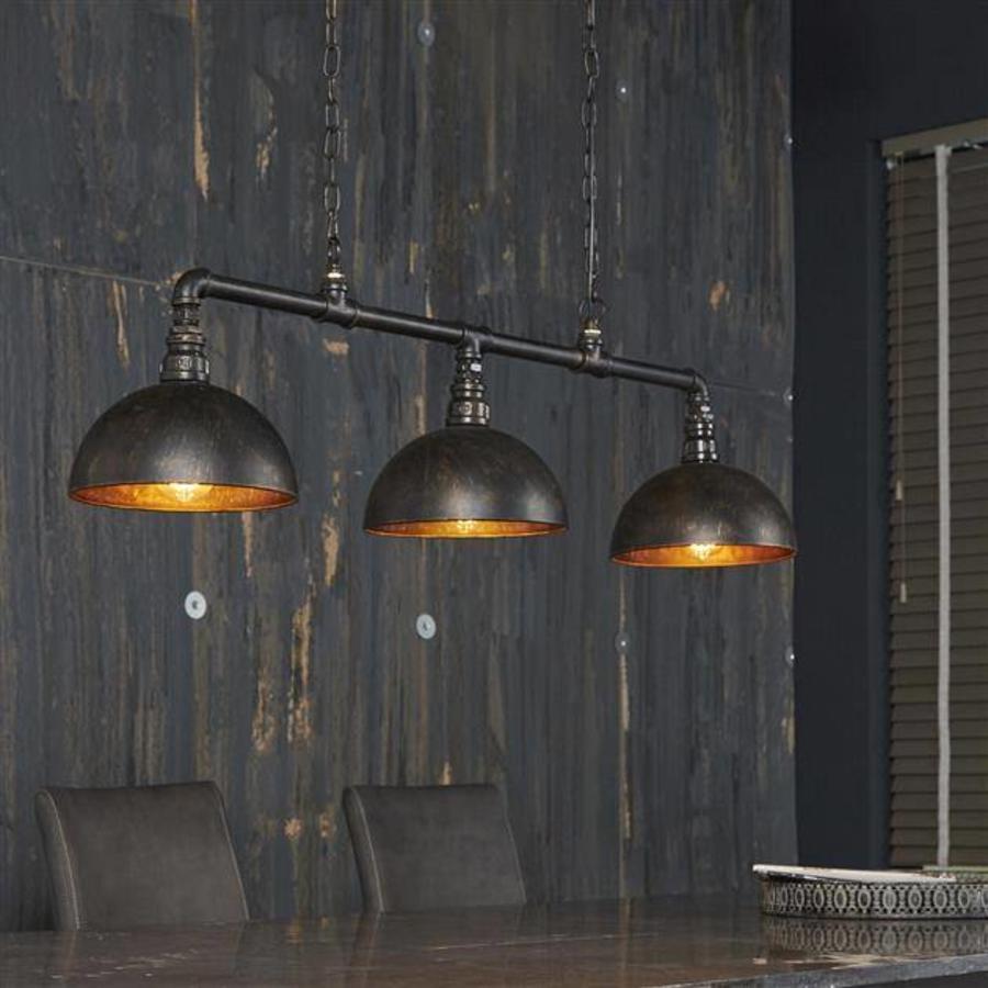 Ceiling Light Sena Black Industrial Design