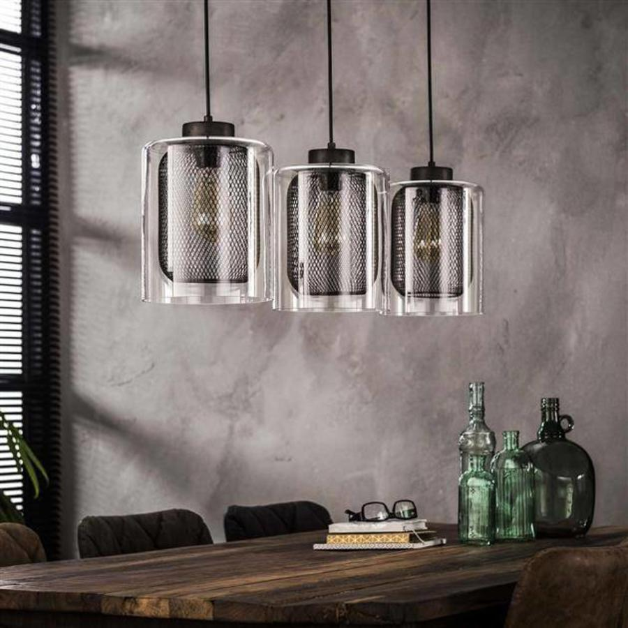 Jiri ceiling light 3L Ø20 old silver - Industrial design