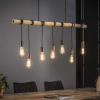Ceiling Light Adara 7L Bamboo Wrap