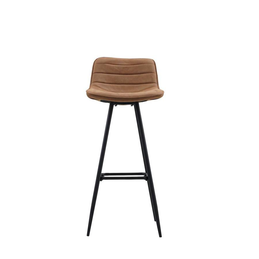 Industrial Bar Stool Jordan Cognac