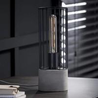 Bent table lamp - Industrial design