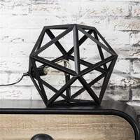 Table Lamp Tina Black Industrial design